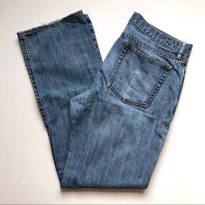 Worn-In Gap Straight Leg Size 33x32